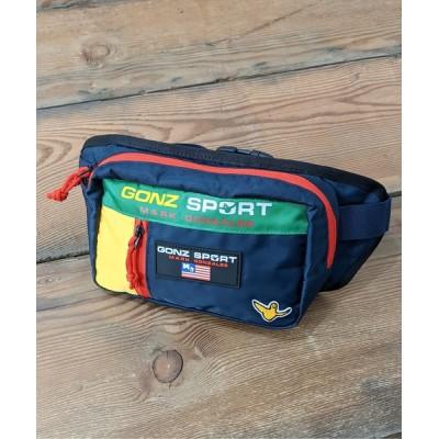 WEST CLIMB / Mark Gonzales/マークゴンザレス ゴンズスポーツ ワンポイントロゴウエストバッグ MEN バッグ > ボディバッグ/ウエストポーチ