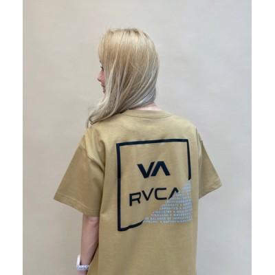 tシャツ Tシャツ 【ZOZOタウン限定アイテム】RVCA/ルーカ   ビッグシルエット  バックプリントTシャツ  BB043-P01