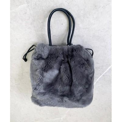 Dhyana. / レッキス巾着Mサイズ WOMEN バッグ > ハンドバッグ