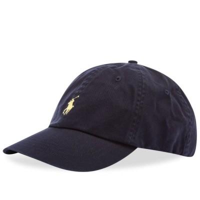 ラルフ ローレン Polo Ralph Lauren メンズ キャップ ベースボールキャップ 帽子 Classic Baseball Cap Relay Blue/Wicket Yellow