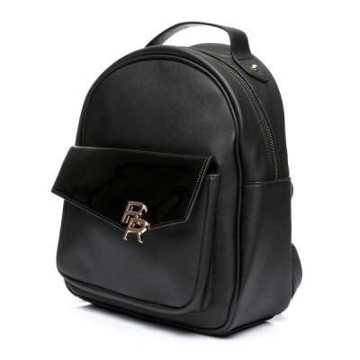 ランページ Rampage レディース バックパック・リュック バッグ saffiano patent backpack Black