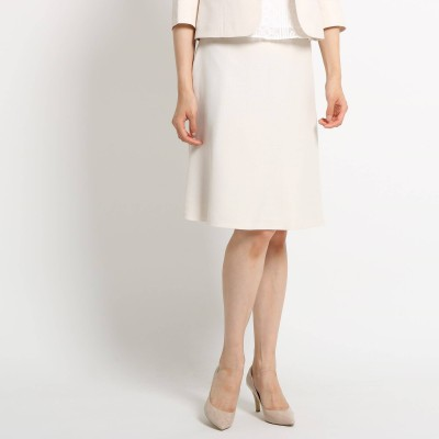 SunaUna(スーナウーナ)/【洗える】ブッチャーAラインスカート