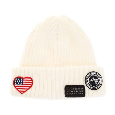 エーアールジー帽子WAPPEN RIB WATCH ニットキャップ AG03AC1270 WHTホワイト
