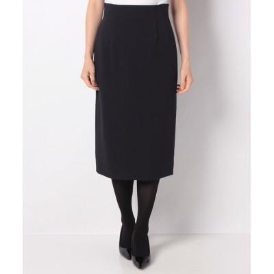 【アナイ】 プレミアムストレッチタイトスカート(ベルト付き) レディース ネイビー 34 ANAYI