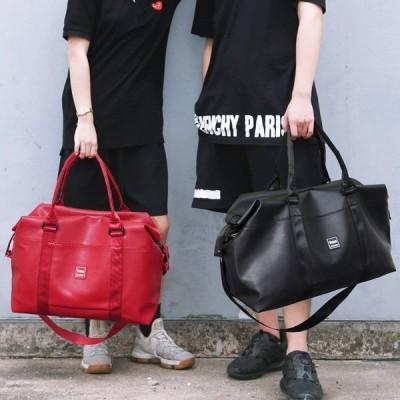 PUレザー 丈夫で強い 修学旅行 部活 多機能 ボストンバッグ メンズ 大容量 トラベルバッグ 韓国風 鞄 アウトドア 旅行カバン 手提げバッグ スポーツ 男女兼用