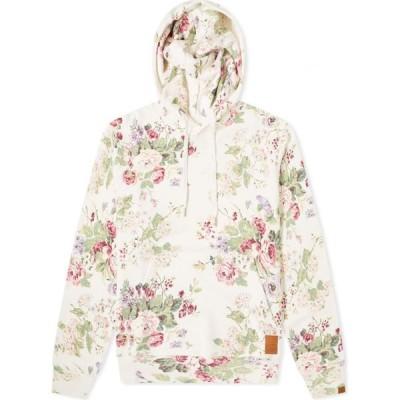 ラグ&ボーン Rag & Bone メンズ パーカー トップス Floral Popover Hoody White Floral