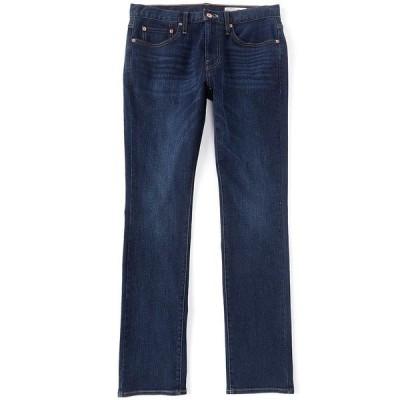 クレミュ メンズ デニムパンツ ボトムス Jeans Slim-Fit Dark Blue Wash Stretch Jeans Blue
