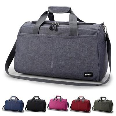 ユニセックスNylon旅行ダッフルバッグウィークエンダージムバッグスポーツホールドオールバッグ耐水性荷物袋