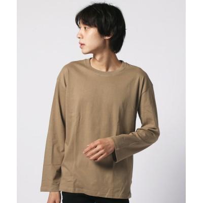 THE CASUAL / 長袖BIGクルーネックTシャツ MEN トップス > Tシャツ/カットソー