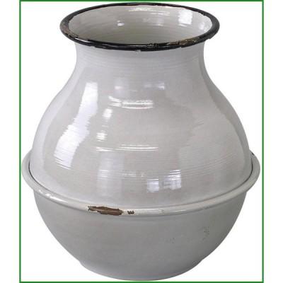 SPICE プロヴァンスブリキ 壺型ポット グレー IVDN1250GY|b03