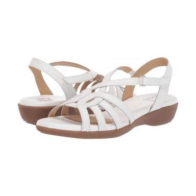 Naturalizer ナチュラライザー レディース 女性用 シューズ 靴 サンダル Nalani - White Leather