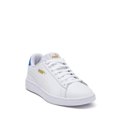 プーマ メンズ スニーカー シューズ Smash V2 Leather Sneaker WHITE