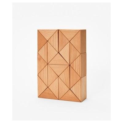 スネークブロックラージナチュラル AREAWARE エリアウェア ウッド 木 木製 積み木 プレゼント ギフト スタイリッシュ おしゃれ おもちゃ へび