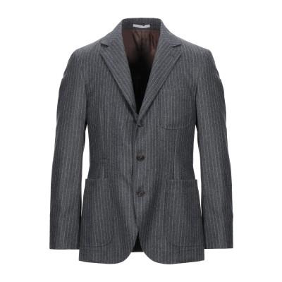 ブルネロ クチネリ BRUNELLO CUCINELLI テーラードジャケット 鉛色 48 ウール 100% テーラードジャケット
