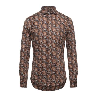 SAINT PAUL シャツ ブラウン 45 コットン 100% シャツ
