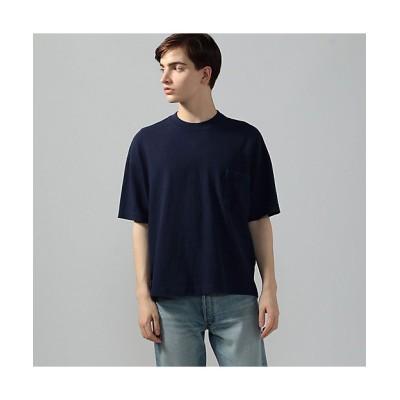 <TOMORROWLAND (Men)/トゥモローランド> 吊天竺 ビッグシルエット ポケットTシャツ 67ダークブルー【三越伊勢丹/公式】
