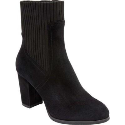 バイオニック Vionic レディース ブーツ ショートブーツ シューズ・靴 Kaylee Ankle Bootie Black Knit