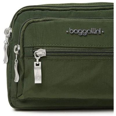 Baggallini トリプル ジップ Bagg, juniper『海外取寄せ品』