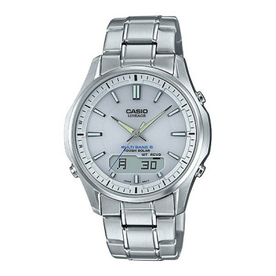 CASIO カシオ リニエージ LCW-M100DE-7AJF ソーラー 電波時計 メンズ 腕時計 取り寄せ品