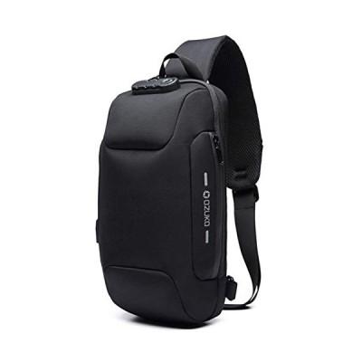 OZUKO(オズコ)[OZUKO] ボディバッグ メンズ 斜めがけ ショルダーバッグ 大容量 防水 USBポート付き ワンショルダー 軽量 盗難防止