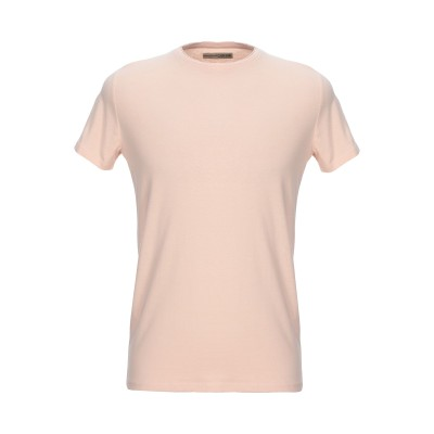 CLARK JEANS T シャツ サーモンピンク S コットン 100% T シャツ