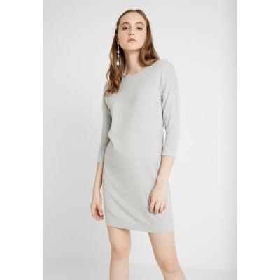 ヴェロモーダ ワンピース レディース トップス VMMINNIECARE O NECK DRESS - Jumper dress - light grey melange