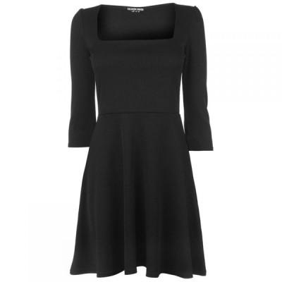 ファッションユニオン Fashion Union レディース ワンピース ワンピース・ドレス Jersey Dress BLACK