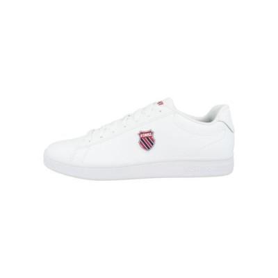 ケースイス メンズ 靴 シューズ COURT SHIELD - Trainers - white-corporate (06599-113)