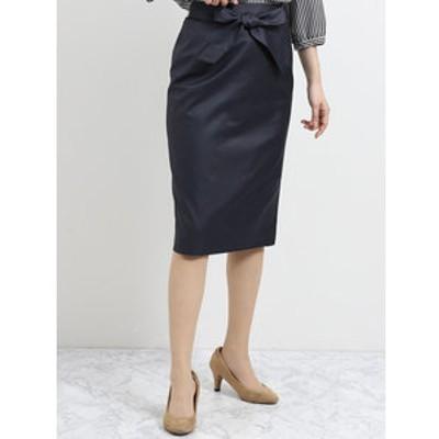 ボンフォルト セットアップタイトスカート 紺