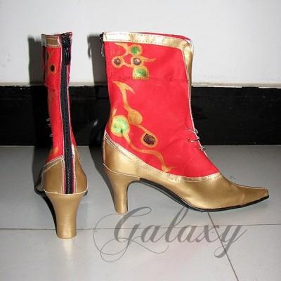 ディシディア ファイナルファンタジー ティナ コスプレ 靴 ブーツ xz527(xz527)