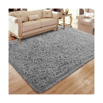 海外限定 Flagover Soft Fluffy Modern Living Room Area Rugs Shaggy Plush Non-Slip Bedroom Carpets Suitable for Children Room, Baby Room,
