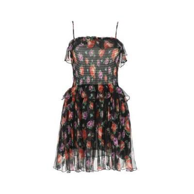 エムエスジイエム レディース ワンピース トップス MSGM Floral Ruffled Mini Dress -
