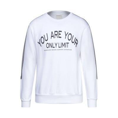 PMDS PREMIUM MOOD DENIM SUPERIOR スウェットシャツ ホワイト L コットン 100% スウェットシャツ