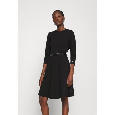 カルバンクライン ワンピース レディース トップス MILANO DRESS - Jersey dress - black
