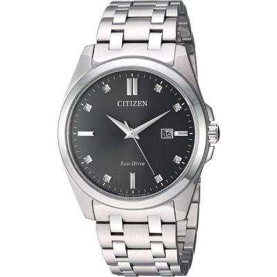 腕時計 シチズン 逆輸入 BM7100-59H Citizen Eco-Drive Corso Quartz Mens Watch, Stainless Steel, Classi
