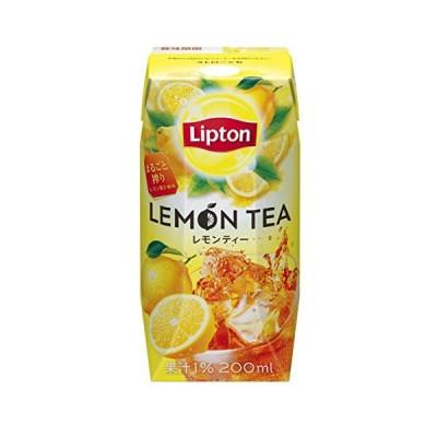 リプトン レモンティー 200ml 紅茶飲料 紙パック ドリンク 飲み物 常温保存×24本