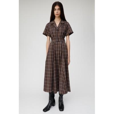 WAIST ベルト SUCKER PLAID ドレス