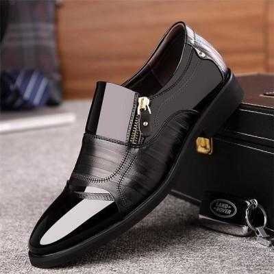 紳士靴 ビジネスシューズ 通勤 歩きやすい メンズ 男性 革靴 ファッション ビジネス カジュアル レザー 通気性 軽量 HY0910008-1