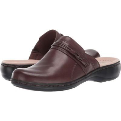 クラークス Clarks レディース シューズ・靴 Leisa Clover Dark Brown Leather