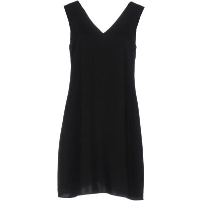 COOPER & ELLA ミニワンピース&ドレス ブラック XS ポリエーテル 100% ミニワンピース&ドレス