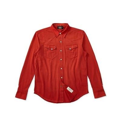 RRL コットン ジャージー ウエスタンシャツ XS