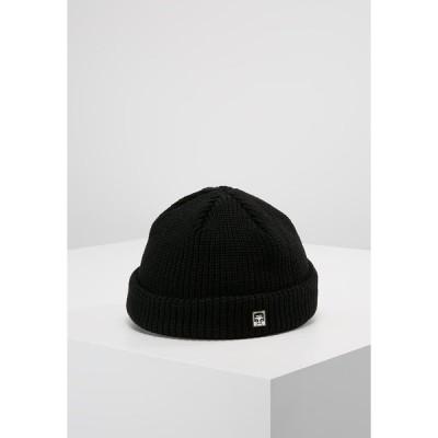 オベイ 帽子 メンズ アクセサリー MICRO BEANIE UNISEX - Beanie - black