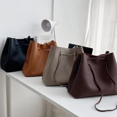 レディース ショルダーバッグ Urban Bros Leo leather bag