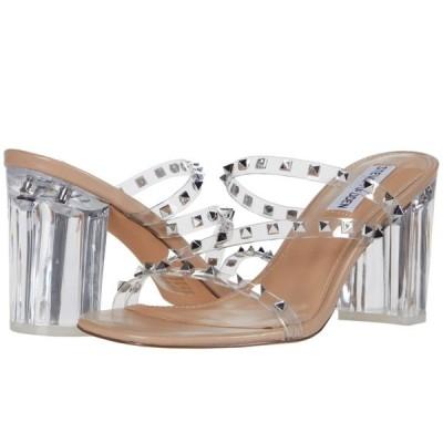 スティーブ マデン Steve Madden レディース サンダル・ミュール シューズ・靴 Tangent Heeled Sandal Clear