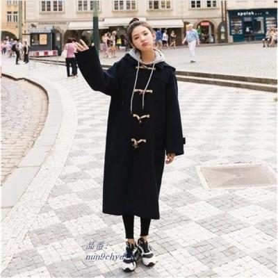 韓国ファッション ファッション 防寒 アウター レディース ロング ロングコートチェスターコート 大きいサイズ トレンチコート