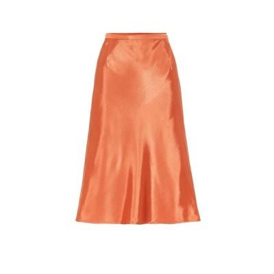 バウム ウンド ヘルガーデン Baum und Pferdgarten レディース ひざ丈スカート スカート sanne satin midi skirt Dusty Orange