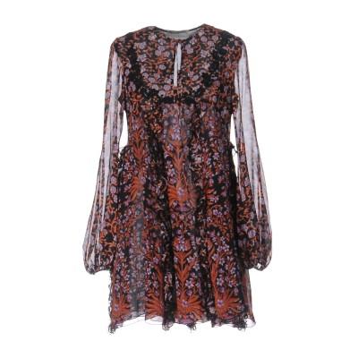 ジャンバティスタ ヴァリ GIAMBATTISTA VALLI ミニワンピース&ドレス ブラック 40 シルク 100% ミニワンピース&ドレス