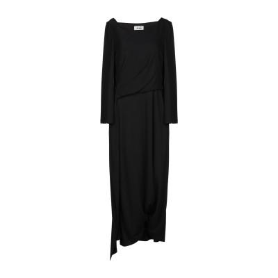 NIŪ 7分丈ワンピース・ドレス ブラック XS レーヨン 48% / アセテート 40% / ナイロン 12% 7分丈ワンピース・ドレス