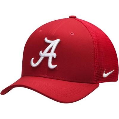 ユニセックス スポーツリーグ アメリカ大学スポーツ Alabama Crimson Tide Nike Aerobill Meshback Swoosh Flex Hat - Crimson 帽子
