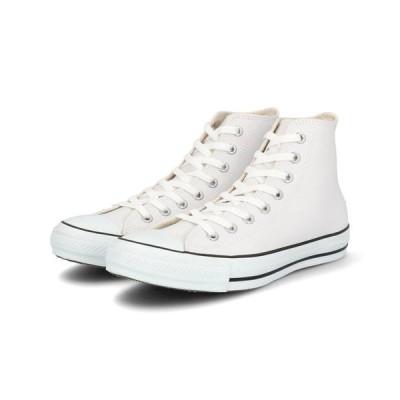 converse コンバース LEA ALL STAR HI メンズスニーカー 1B907 ホワイト【メンズ】
